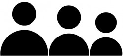 Picto. famille-noir
